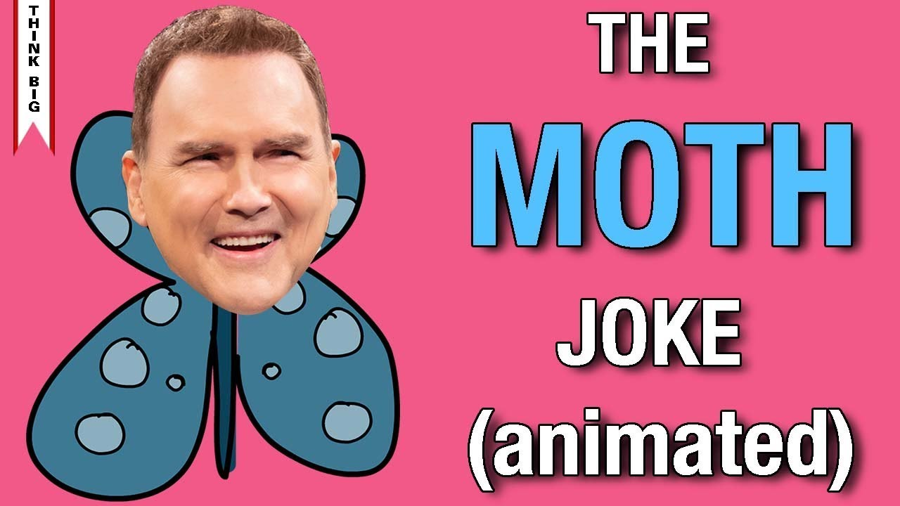 Download The Moth Joke by Norm MacDonald | Animated Version
