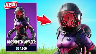 New Corrupted Voyager Skin Gameplay - Space Explorers Set! (Fortnite Battle Royale)