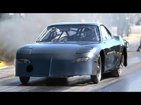 EVO Powered RX7 - 65 PSI of BOOST!