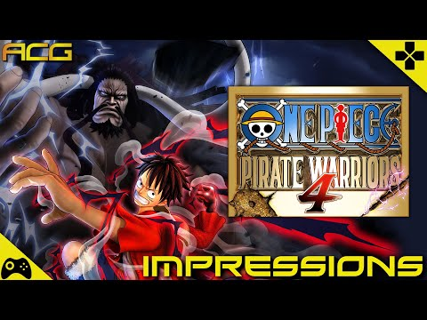 One Piece Pirate Warriors 4 Preview And Impressions