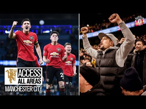 View From The Away End! | Access All Areas | City 1-2 United | Premier League