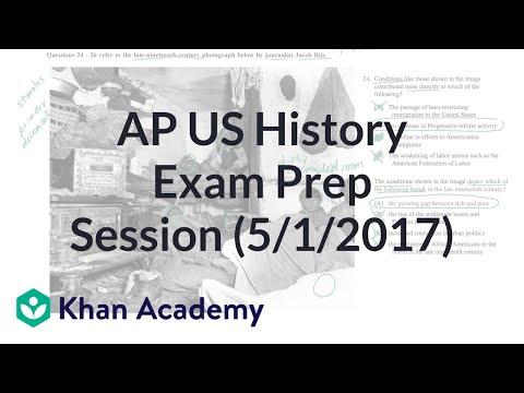 Khan Academy Live: AP US History