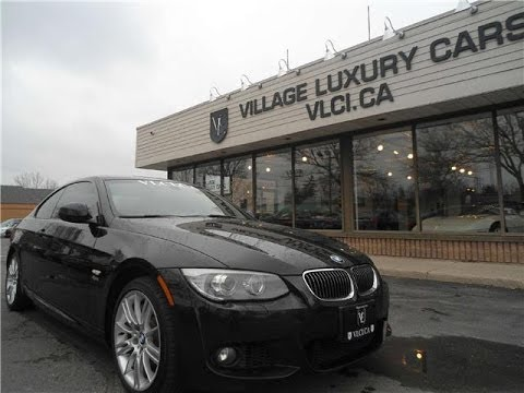 2012 Bmw 335i Coupe Xdrive In Review Village Luxury Cars