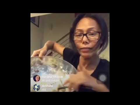 Lana Nordin Tunjuk Cara Buat Roti Lembut ( Vegan Soft Bread ) Sambil Hubby & Gia Teman !