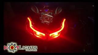 Yamaha Mio Sporty / Amore Proejctor n Light Set up by HotLights Philippines
