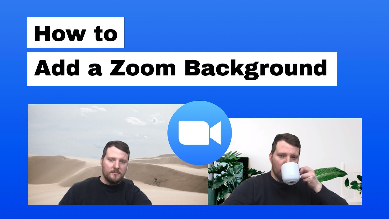 How To Change A Zoom Virtual Background Youtube