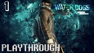 Watch_Dogs (PS4) Playthrough - Part 1 - Adventures In Product Placement