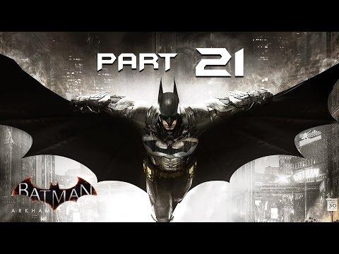 Batman Arkham Knight Walkthrough Part 21 - SUBWAY - Playthrough / Let's Play / Gameplay