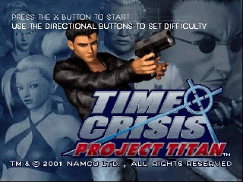 PSX Longplay [217] Time Crisis Project Titan