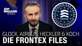 The secret dates of Frontex and the arms industry | ZDF Magazin Royale