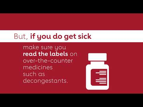 Blood Pressure Facts: Cold & Flu Medicine