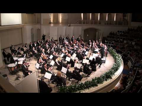 Glazunov Symphony No4 RNO José Serebrier, one camera's HD video