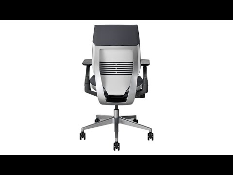 Steelcase Gesture Chair Wedding Wooden Chairs Long Review Youtube