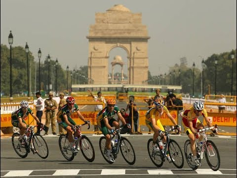 Mark Cavendish In Road Race New Delhi 🇮🇳 2010 Commonwealth Games  keep support (cfi)