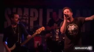 Simple Plan - Singing In the Rain - Live at Irving Plaza 2016