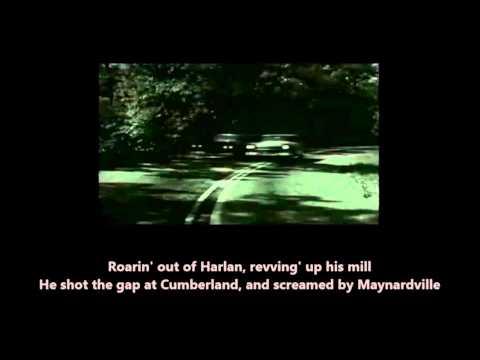 The Ballad Of Thunder Road Robert Mitchum with Lyrics