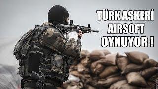 Özel Eğitimli Eski Asker Airsoft Oynuyor !!! Real Soldier Play Airsoft in Turkey