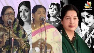 Jayalalitha's daughter Gossips explained by yesteryear Actress Sheela | Sachu, Kutty padmini