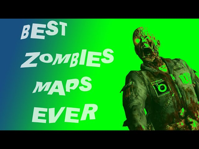 TOP 10 GREATEST ZOMBIES MAPS OF ALL TIME