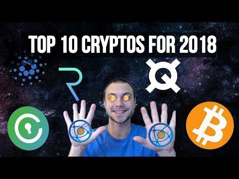 💰 Top 10 Cryptocurrencies of 2018 | Medium Risk Fund 🤑