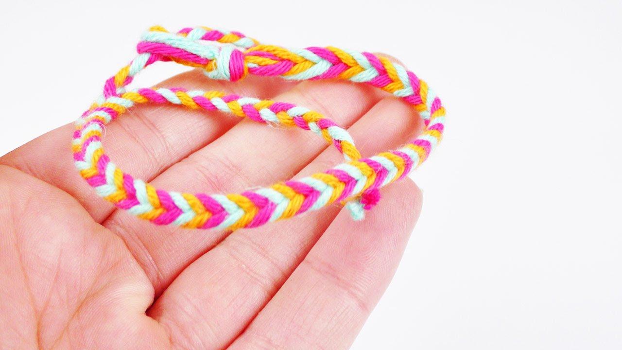 fischgr tenarmband selber machen armband in 3 farben selber machen geschenkidee youtube. Black Bedroom Furniture Sets. Home Design Ideas