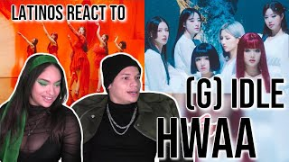 Latinos react to (여자)아이들((G)I-DLE) - '화(火花)(HWAA)' Official Music Video| REACTION