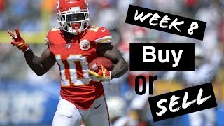 Fantasy Football Week 8: Buy or Sell plus Waiver Wire