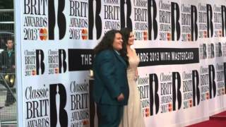 Artists Arriving at the Classic Brit Awards 2013 (1)