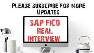 SAP FICO Real Interview in USA