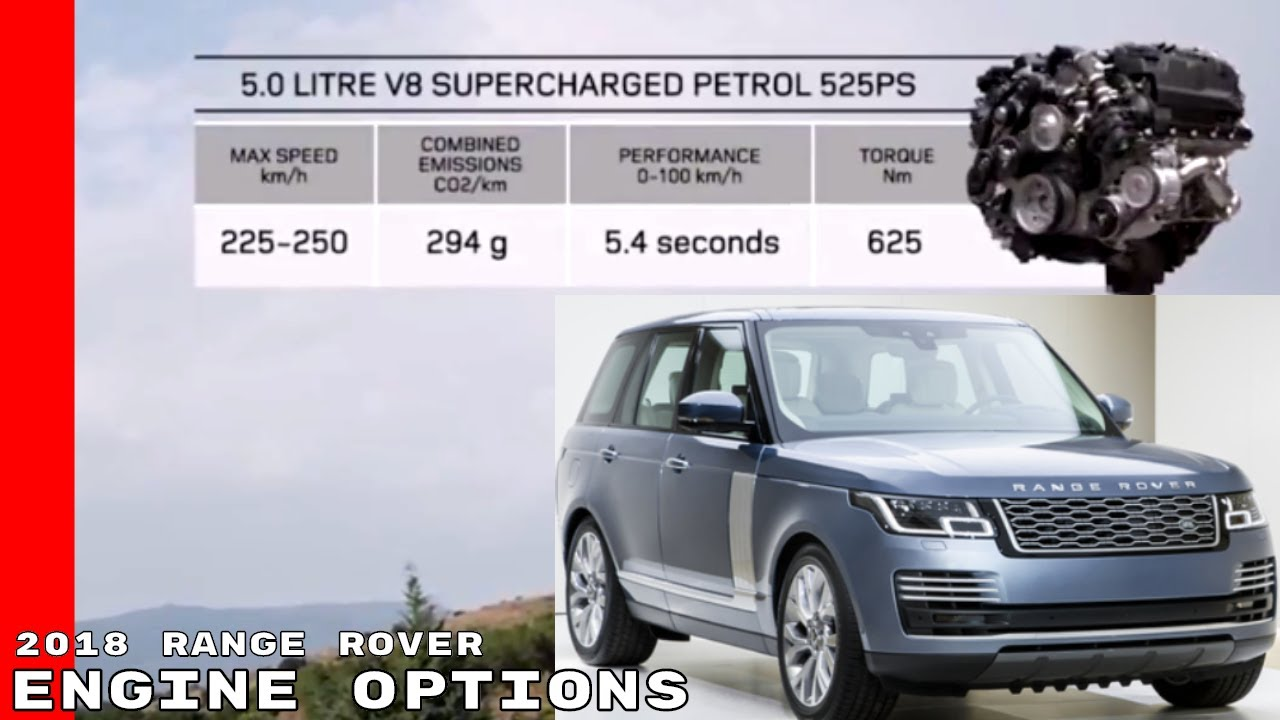 2018 range rover engine options youtube