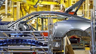 Jaguar F-TYPE Production Line – English Car Factory