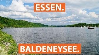 Der Baldeneysee in Essen: Schwimmen und Wassersport im Ruhrstausee