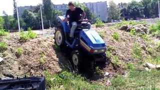 ISEKI TU 155F TRAKTOR mini ciągnik ogrodniczy. www.akant-ogrody.pl