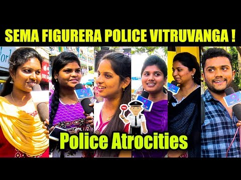Girls Reaction When Caught By Traffic Police | Chennai Traffic Police Atrocities | Girls VS Boys