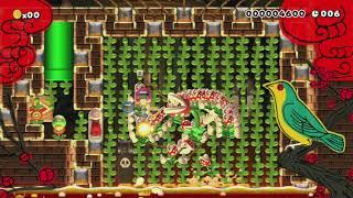 10s♥ はな の バケモノ が あらわれた! ⇒ たたかう by だいすきだZEN*〆 - Super Mario Maker - No Commentary