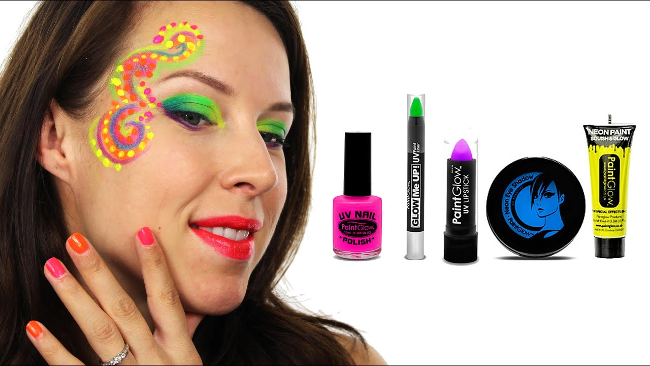 Uv neon face paint tutorial how to do neon festival face paint uv neon face paint tutorial how to do neon festival face paint youtube solutioingenieria Gallery