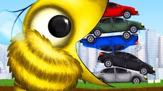 GIANT BEE EATS A PILE OF CARS - Tasty Planet Forever Part 5 | Pungence