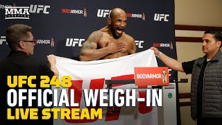 UFC 248: Official Weigh-In Live Stream - MMA Fighting