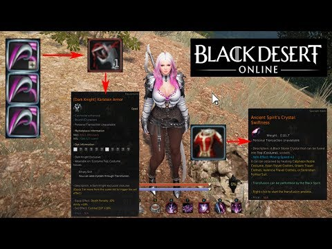 [BDO] Black Spirit's Claw Guide! Using it for the first time!