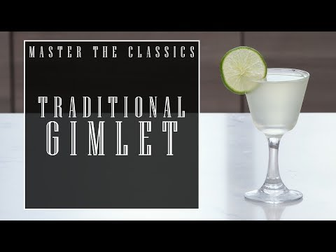 Master The Classics: Gimlet (Traditional)