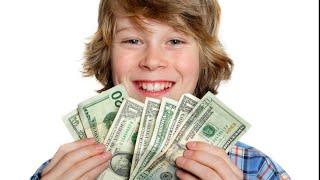 Как заработать деньги школьнику 12 лет? Как заработать школьнику 13 лет?