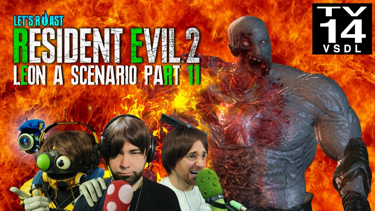 Let S Roast Resident Evil 2 2019 11 Finale Chris Posting Youtube