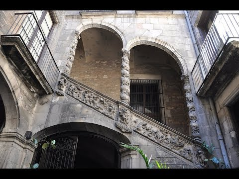 Places to see in ( Barcelona - Spain ) Palau Dalmases