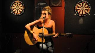 "Sonya-Jean Bruneau original song "" Fire "" @ ANZA club Open Mic 07.10.2014"