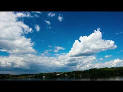 TImelapse Sunny Day in Nackawic, NB