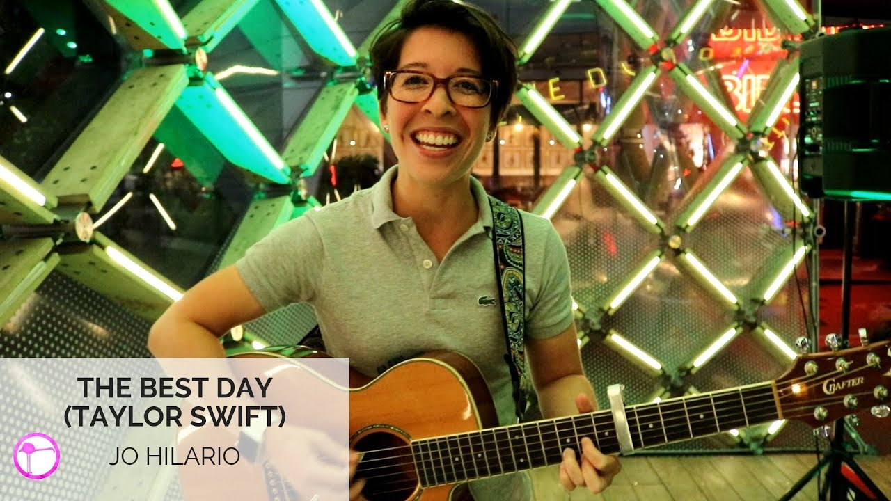 The Best Day Taylor Swift Cover Jo Hilario Youtube