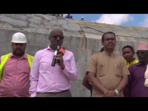 "Somaliland's biggest ""ever"" Water-Dam built by UAE"