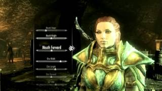 Skyrim: Making a Beatiful nord (NO MOD)