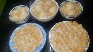 Cách làm bánh trôi bánh chay tết hàn thực 3-3