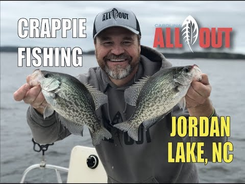 Jordan Lake High Wind Crappie | Carolina ALL OUT | S-3/Ep11